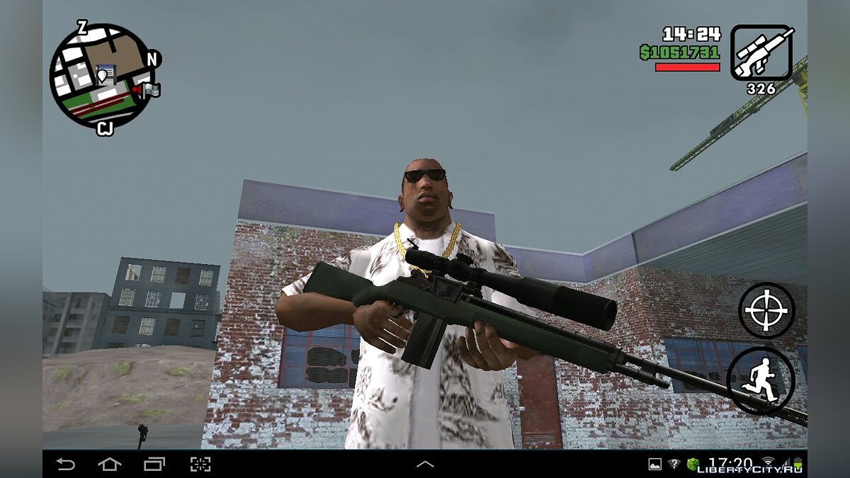 HD Weapons Pack for GTA SA Android/iOS для GTA San Andreas (iOS, Android) - Картинка #4