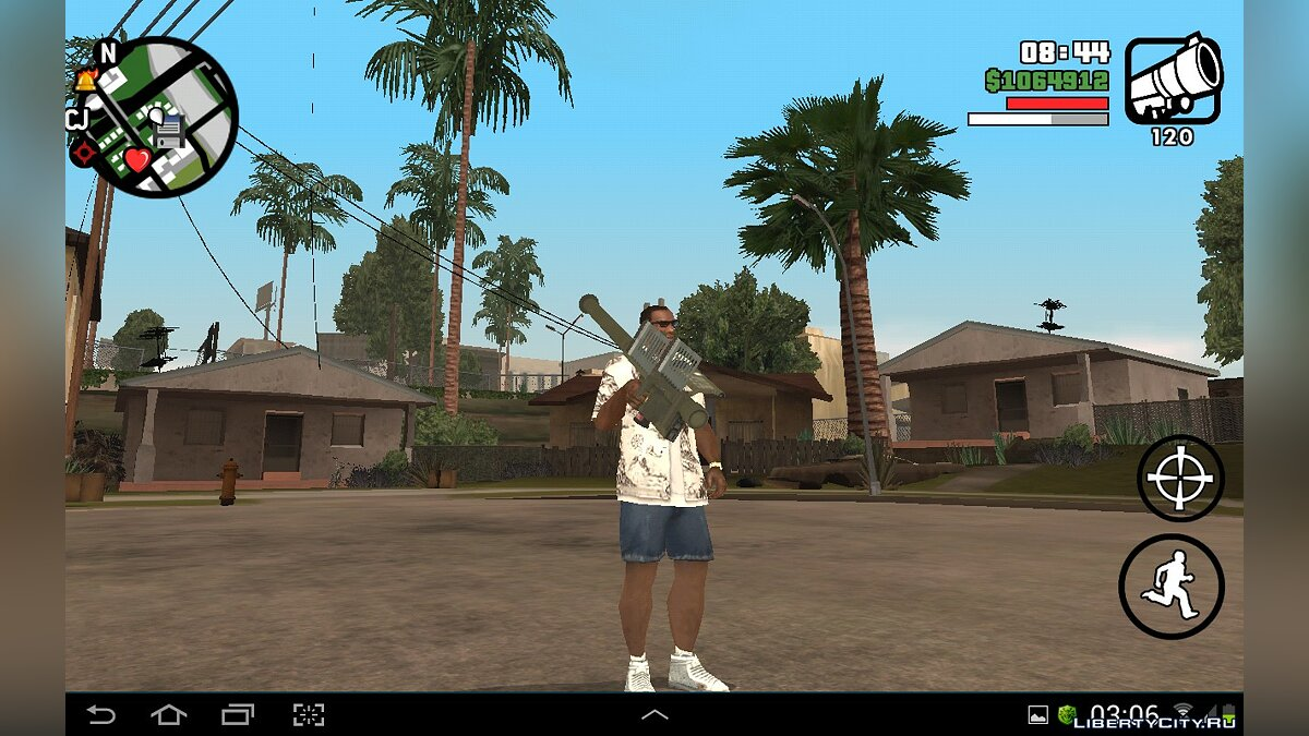 HD Weapons Pack for GTA SA Android/iOS для GTA San Andreas (iOS, Android) - Картинка #5