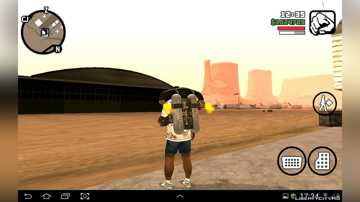 HD Weapons Pack for GTA SA Android/iOS для GTA San Andreas (iOS, Android) - Картинка #6