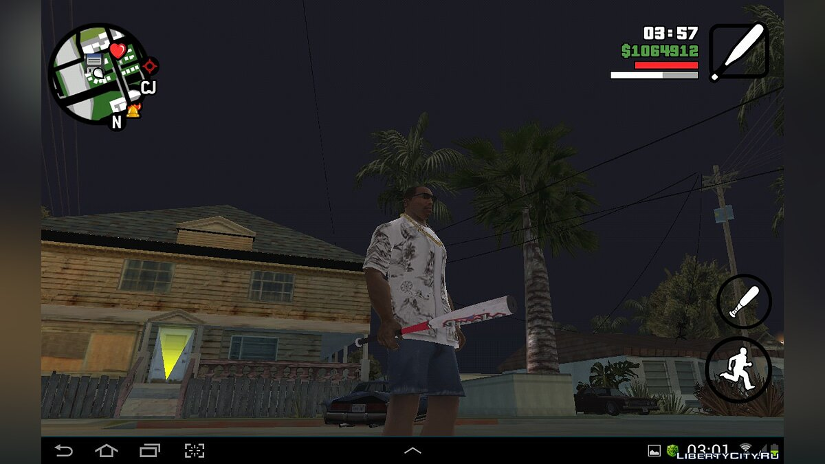 HD Weapons Pack for GTA SA Android/iOS для GTA San Andreas (iOS, Android) - Картинка #8