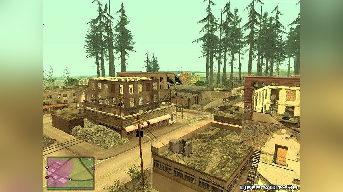 Файл Руины в сельской местности Лос-Сантоса для GTA San Andreas (iOS, Android)