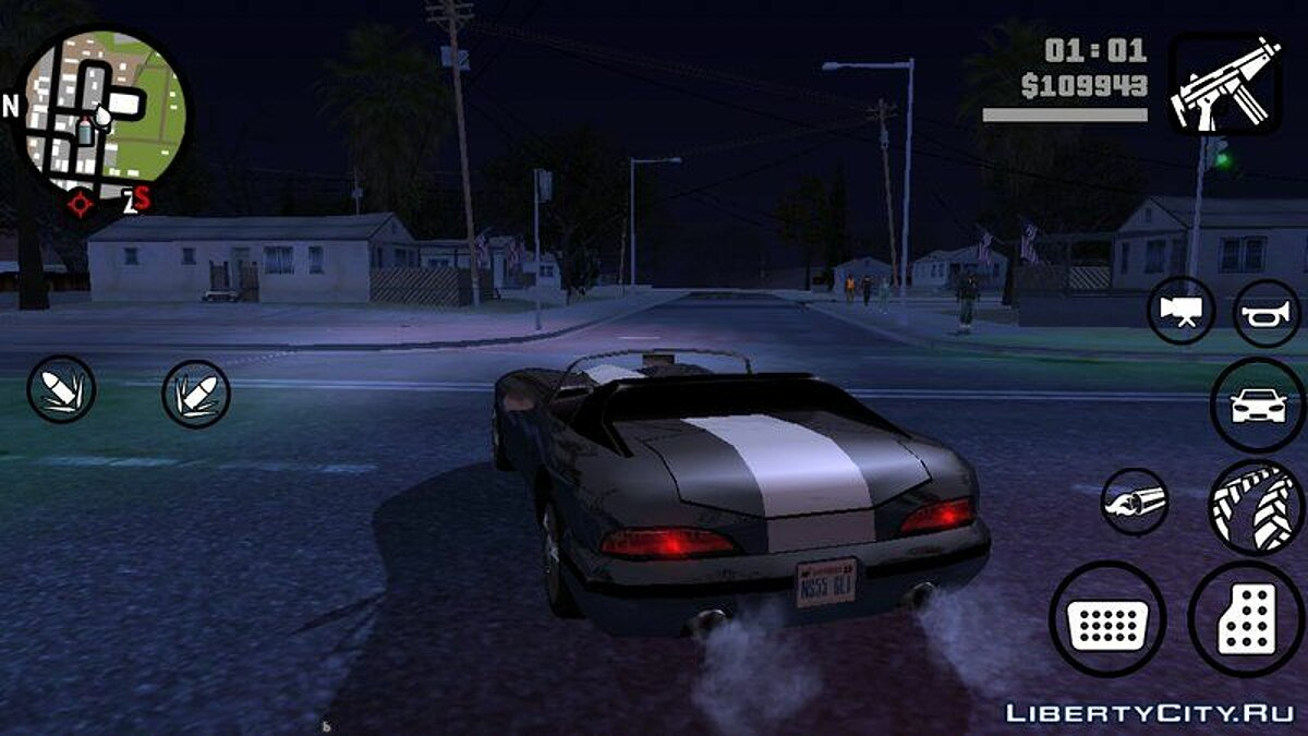 ENB Series Render 2.0 для GTA San Andreas (iOS, Android) - скриншот #3