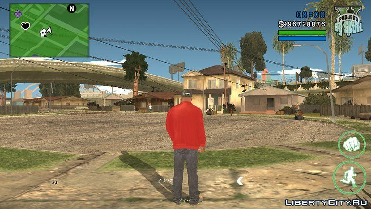 Простой ENB для GTA San Andreas (iOS, Android) - Картинка #1