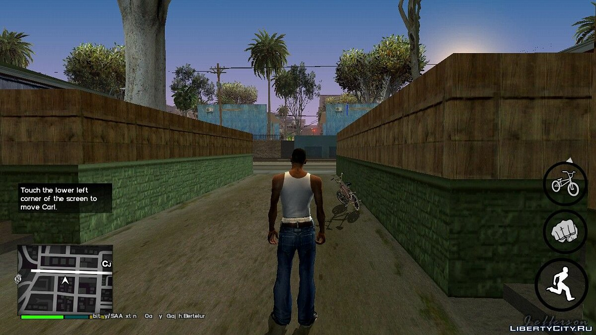 Мод Redux ENB для GTA San Andreas (iOS, Android)