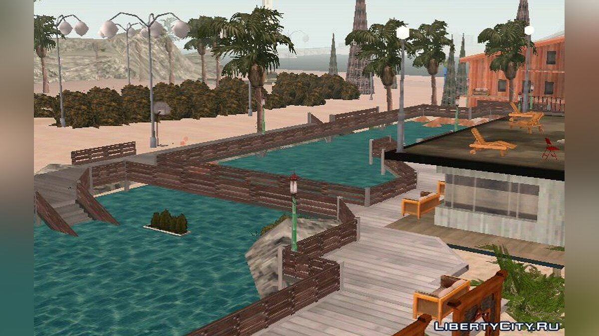 Мод The Paradise City Mod для GTA San Andreas (iOS, Android)