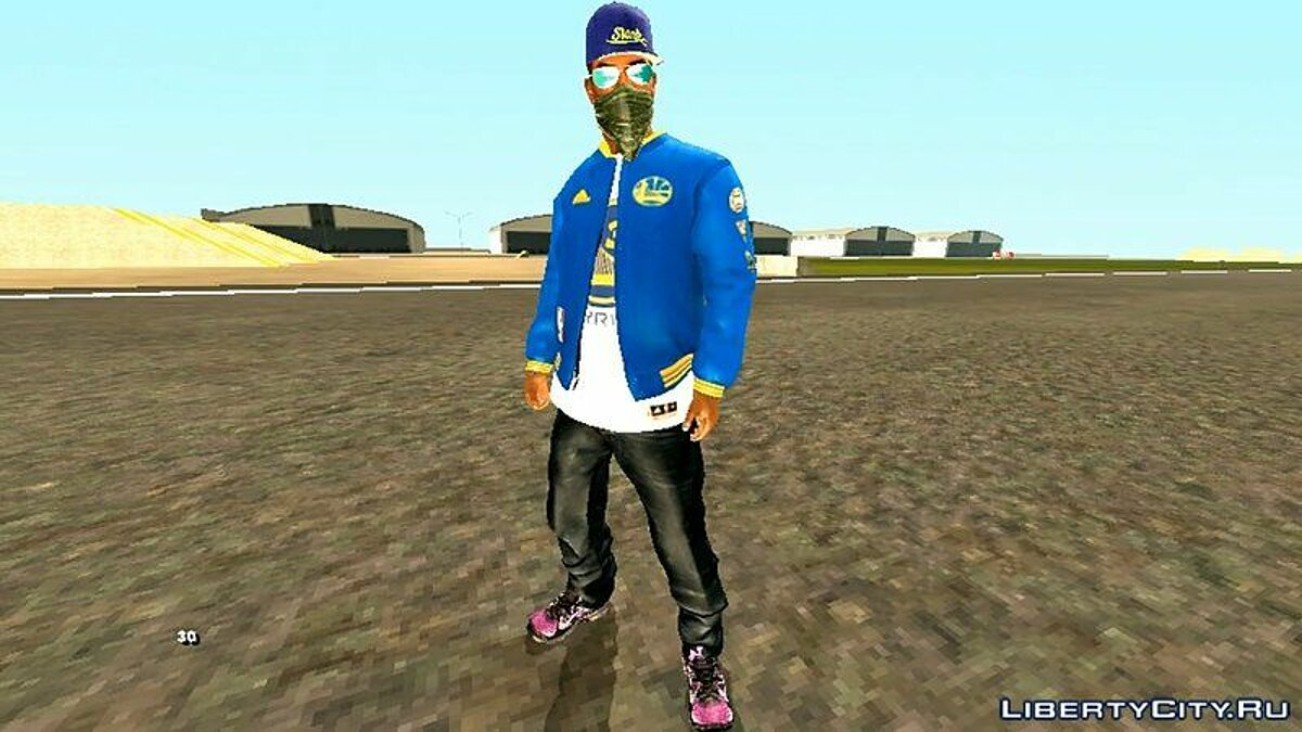 Мод HD CJ 2020 для GTA San Andreas (iOS, Android)