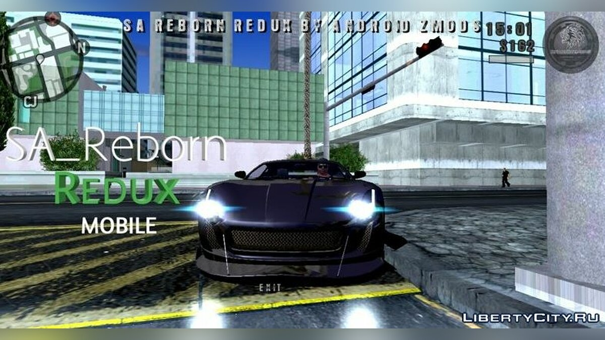 Мод SA_Reborn Redux (ENB для мобильных) для GTA San Andreas (iOS, Android)