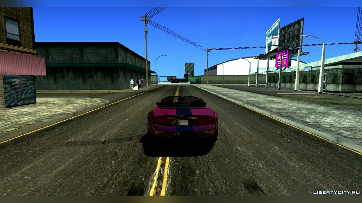 Мод Project SA_Redux для GTA San Andreas (iOS, Android)