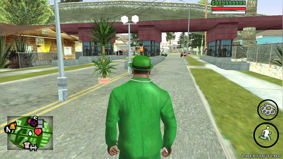 Мод Новые объекты на Grove Street (PC & Android) для GTA San Andreas (iOS, Android)
