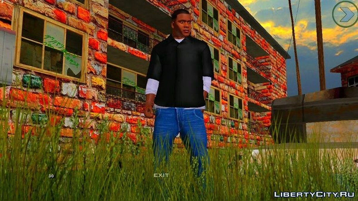 Мод Colorcycle High Saturation Final для GTA San Andreas (iOS, Android)
