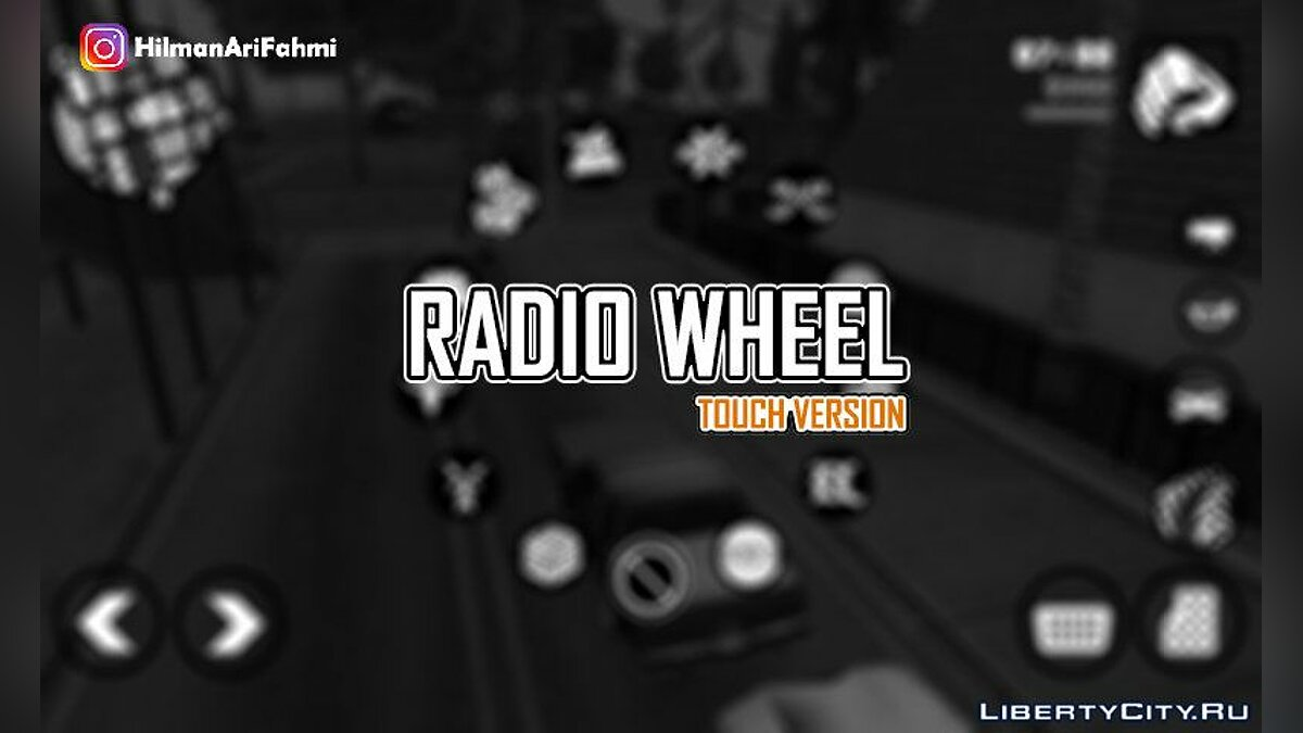 Radio Wheel (Touch Version) For Android для GTA San Andreas (iOS, Android)