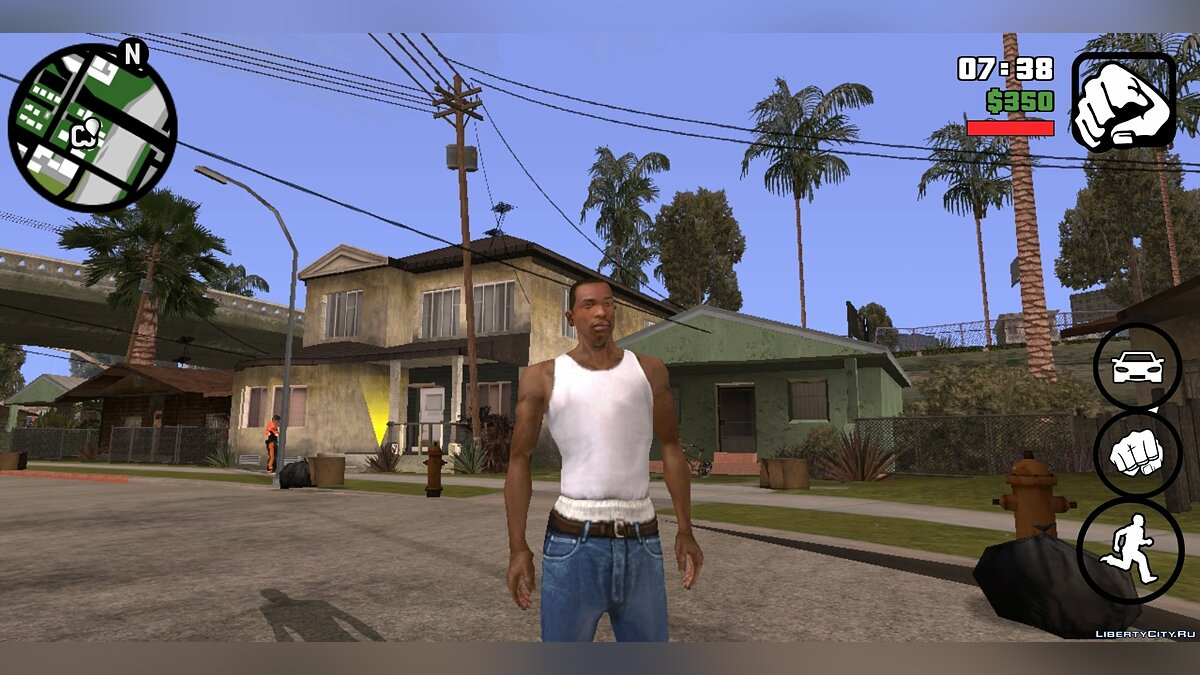 Мод Realistic Mod v.1.0 для GTA San Andreas (iOS, Android)
