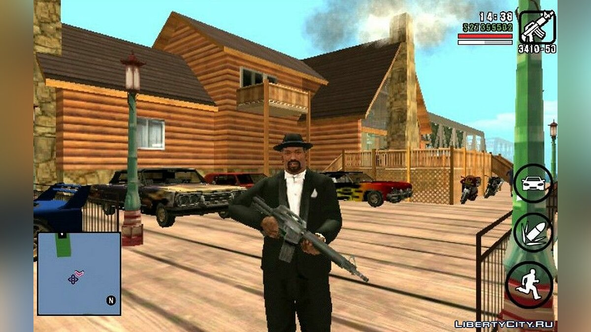 Новый VIP дом для GTA San Andreas (iOS, Android)
