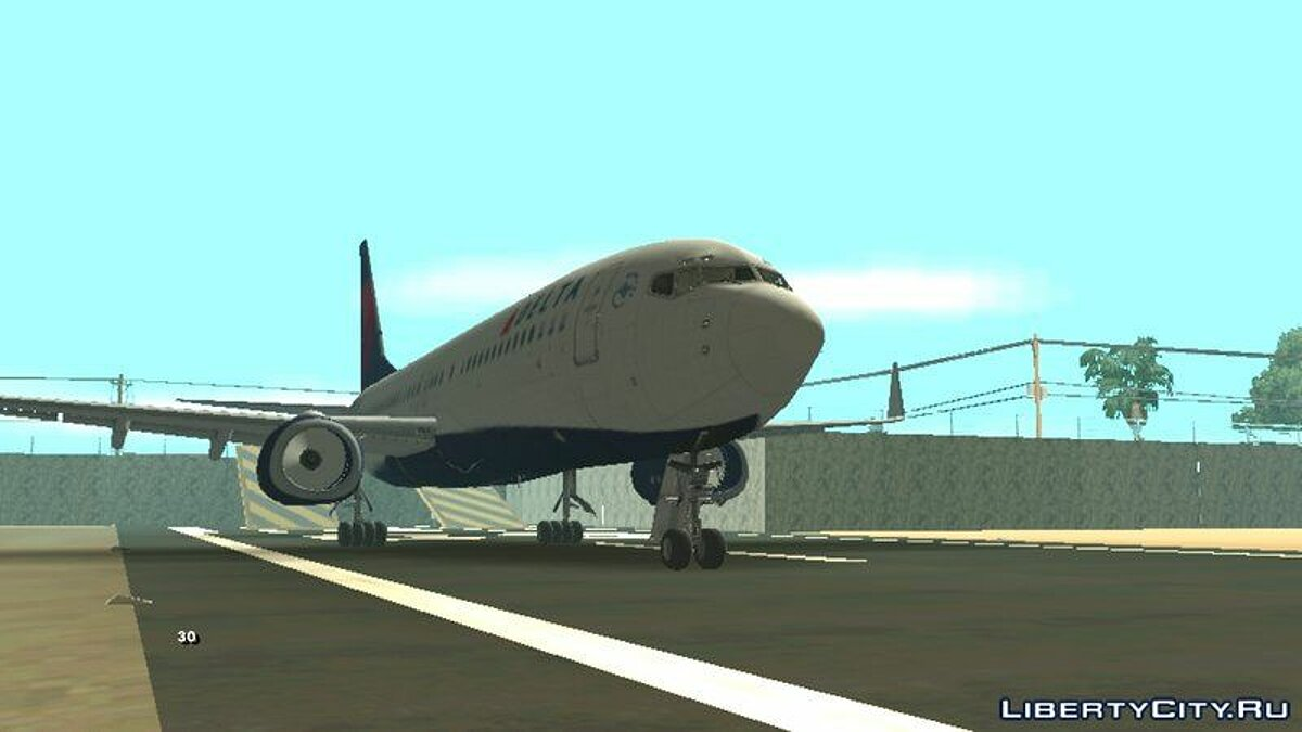 B737-800 Delta Airlines  для GTA San Andreas (iOS, Android) - Картинка #1