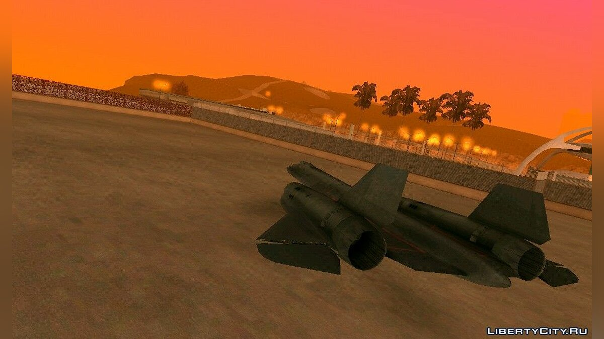 SR71 Blackbird для GTA San Andreas (iOS, Android)
