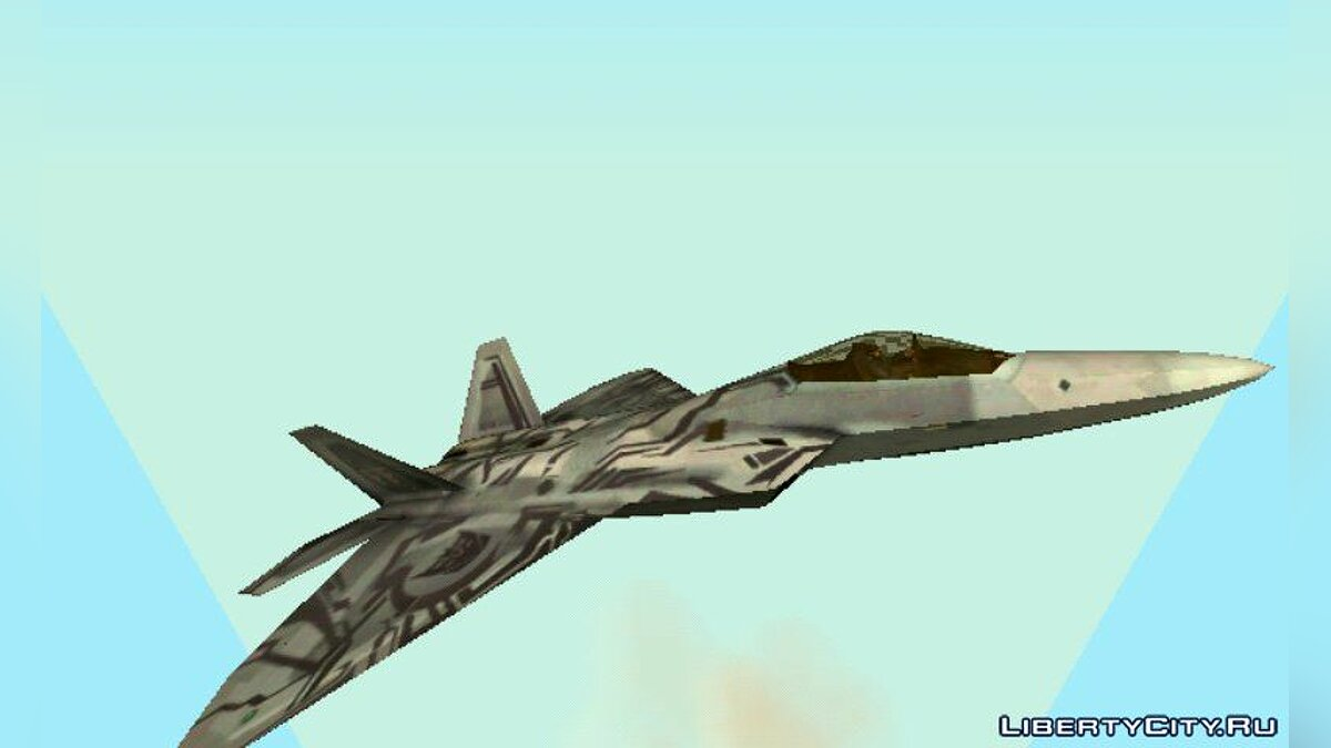 Самолет и вертолет F-22 Raptor Starscream Decepticon для GTA San Andreas (iOS, Android)