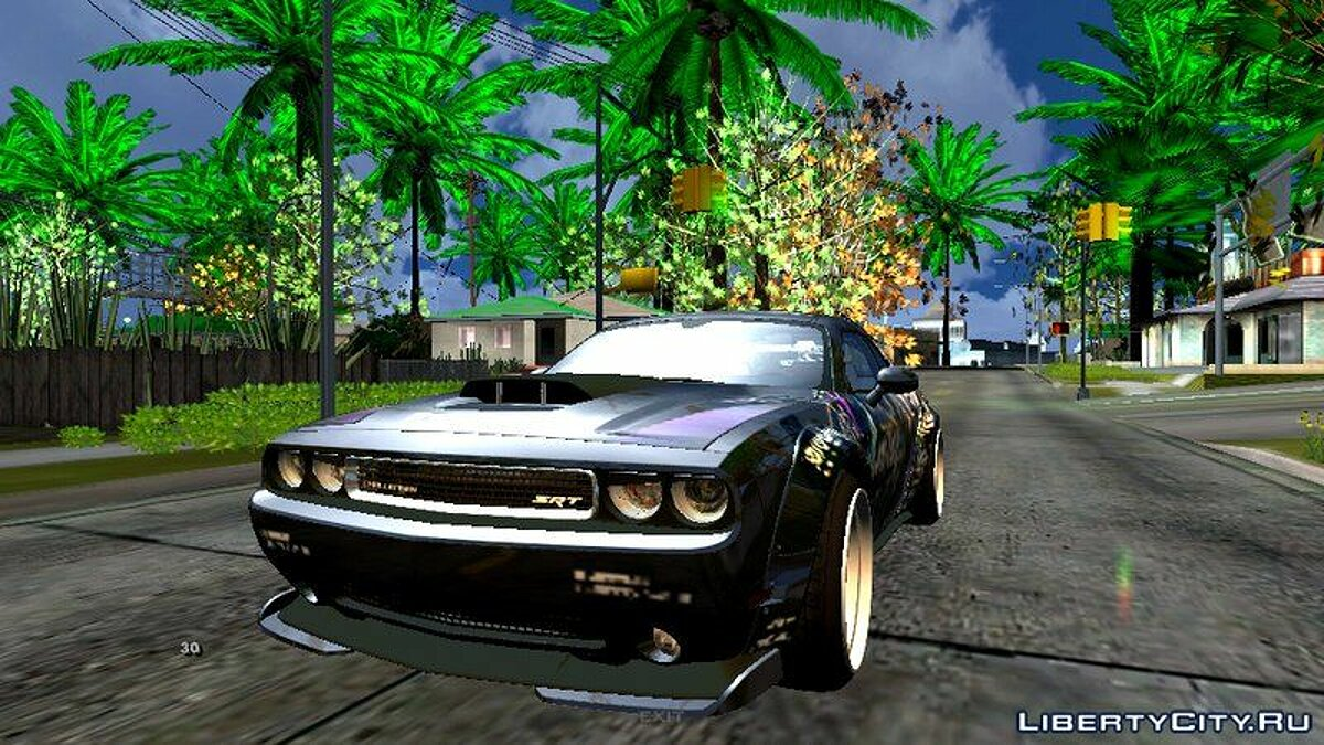 Dodge Challeger Liberty Walk для GTA San Andreas (iOS, Android) - Картинка #1