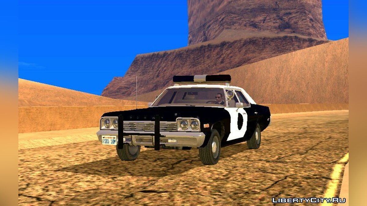 Машина 1974 Dodge Monaco для GTA San Andreas (iOS, Android)