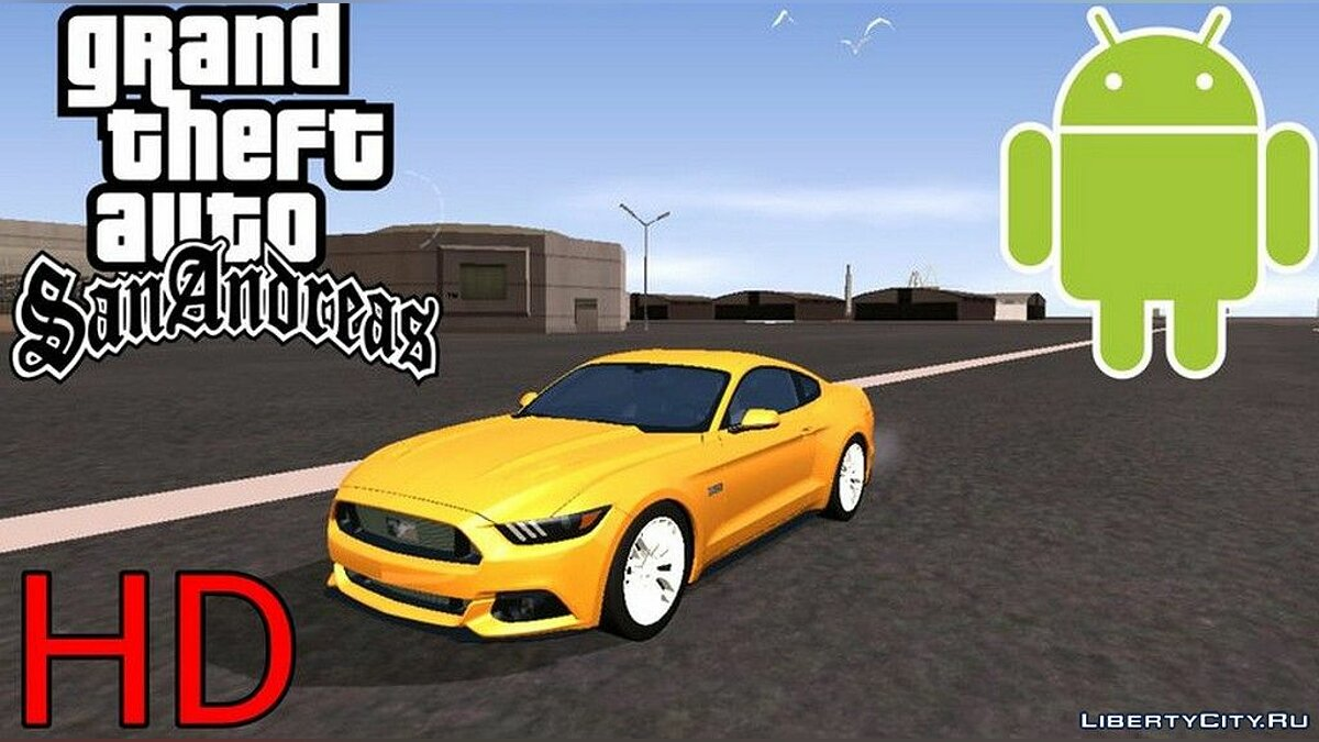 Ford Mustang для GTA San Andreas (iOS, Android) - Картинка #1