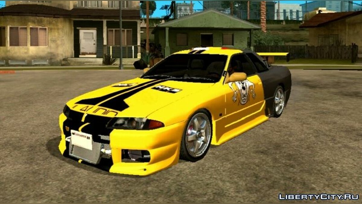 Машина Nissan Skyline R32 Tunable  для GTA San Andreas (iOS, Android)