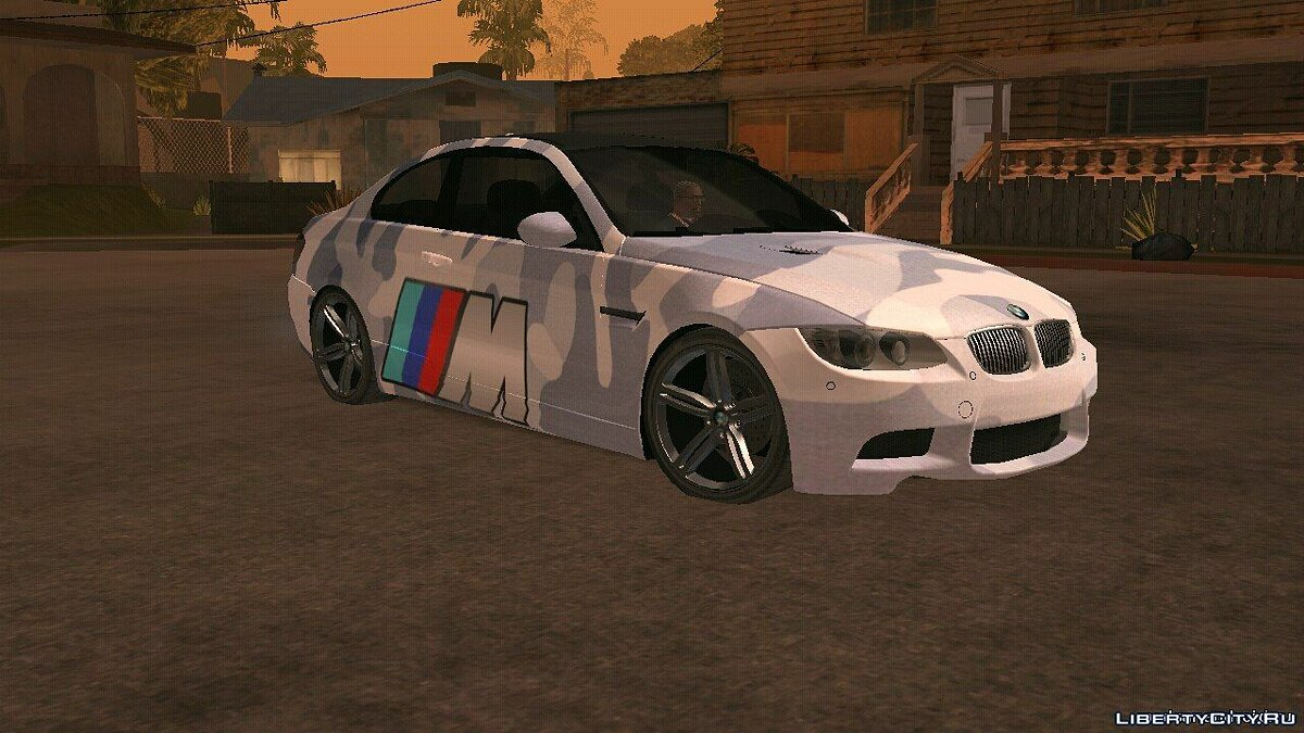 BMW M3 e92 для GTA San Andreas (iOS, Android)