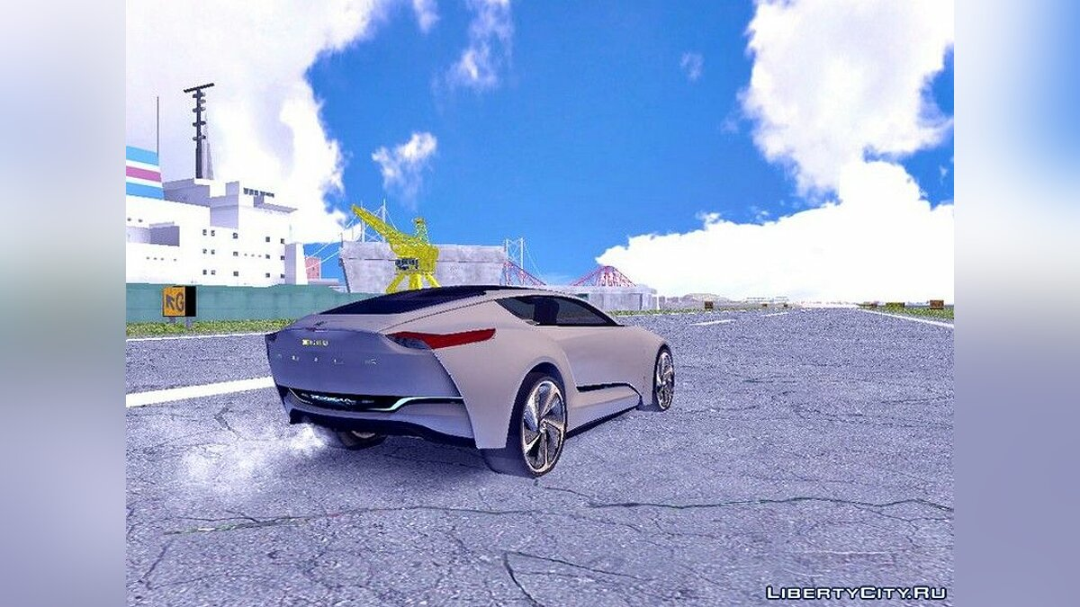 Buick Riviera Concept 2013 для GTA San Andreas (iOS, Android) - скриншот #4