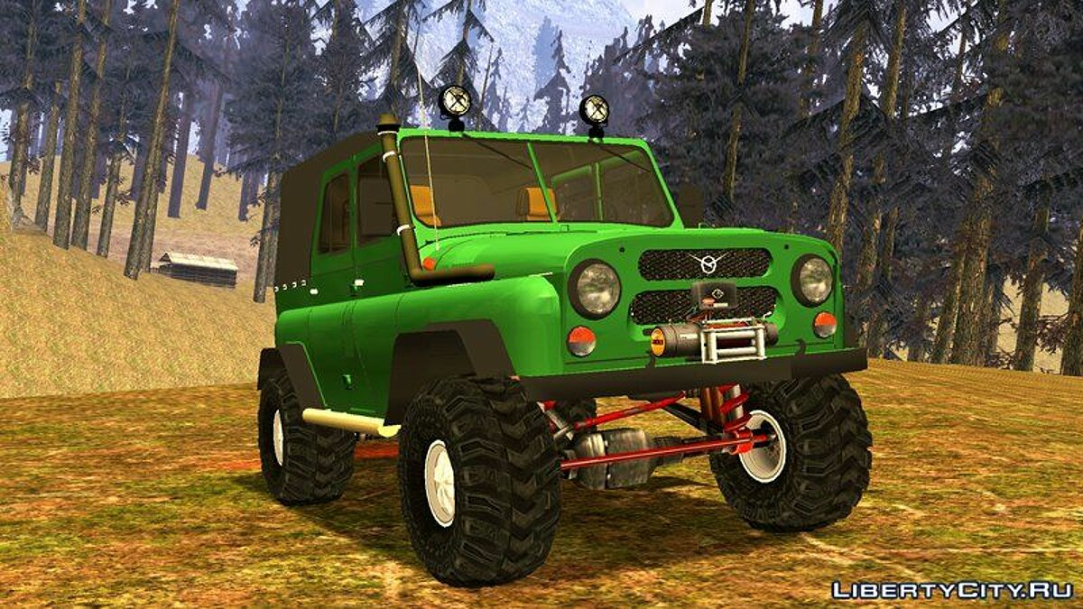 UAZ 469 Off-Road для GTA San Andreas (iOS, Android) - Картинка #4