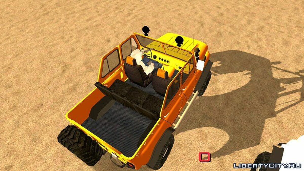UAZ 469 Off-Road для GTA San Andreas (iOS, Android) - Картинка #3