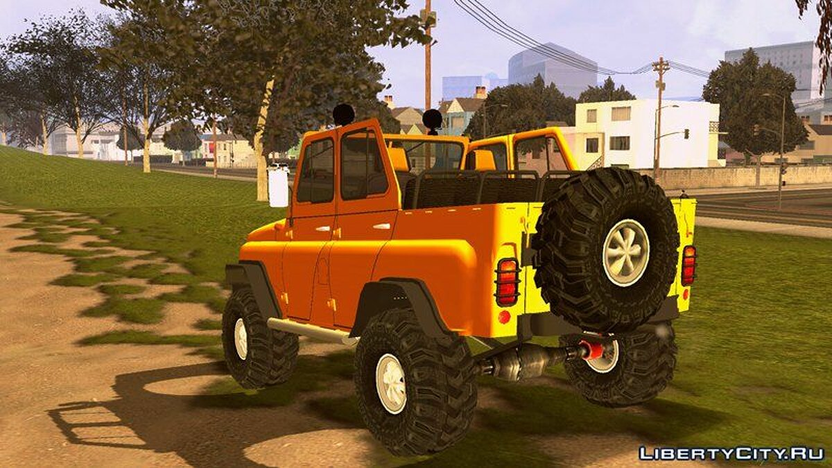 UAZ 469 Off-Road для GTA San Andreas (iOS, Android) - Картинка #5