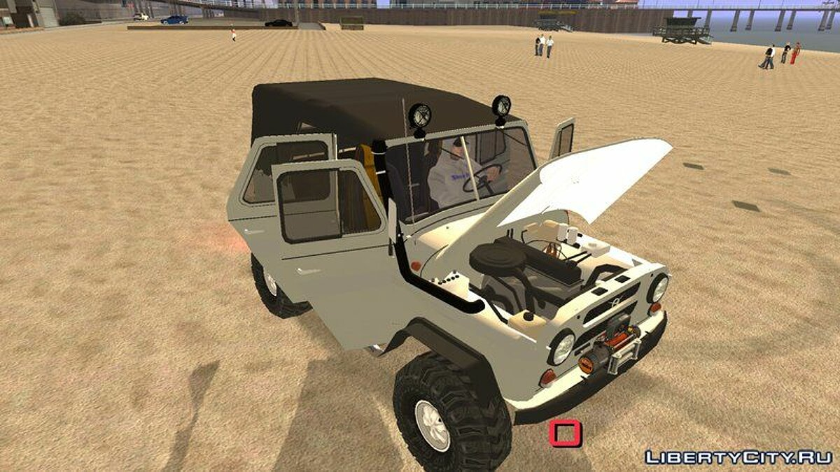 UAZ 469 Off-Road для GTA San Andreas (iOS, Android) - Картинка #1