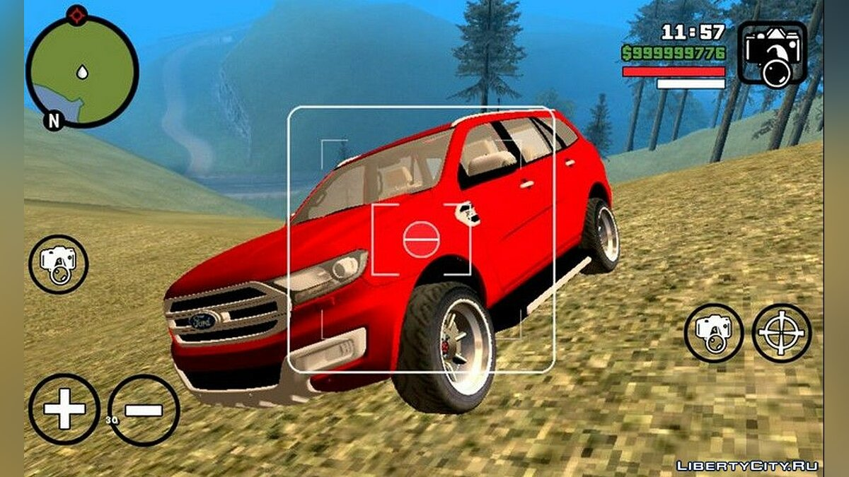 Ford Endeavour для GTA San Andreas (iOS, Android)