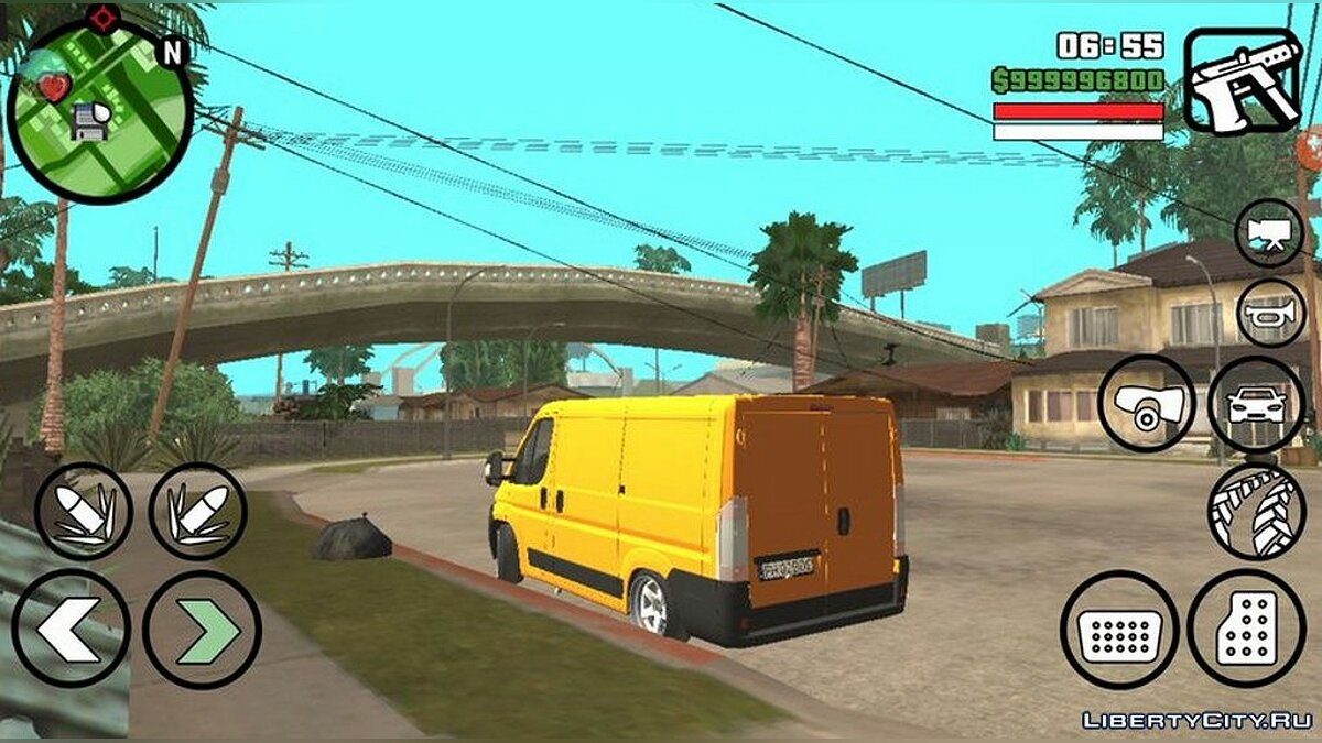 Fiat Ducato 2013 года для GTA San Andreas (iOS, Android) - скриншот #5