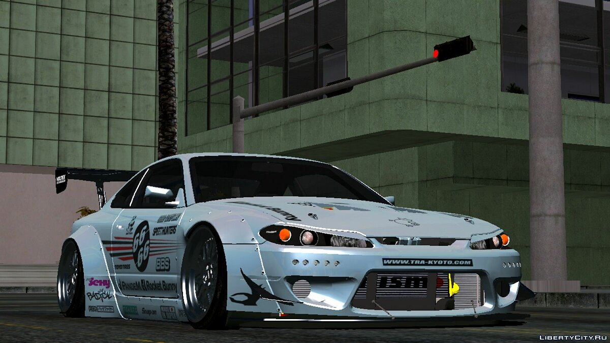 [REL ANDROID] Nissan Silvia S15 Spec-R Rocket Bunny 2002 для GTA San Andreas (iOS, Android) - Картинка #2