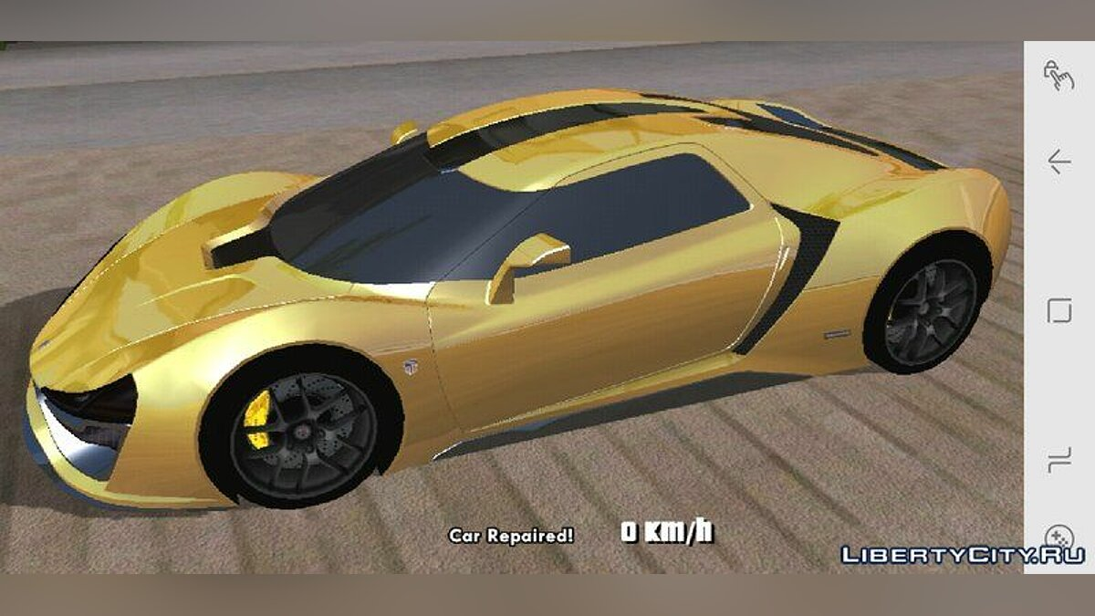 Trion Nemesis for Mobile для GTA San Andreas (iOS, Android) - Картинка #1