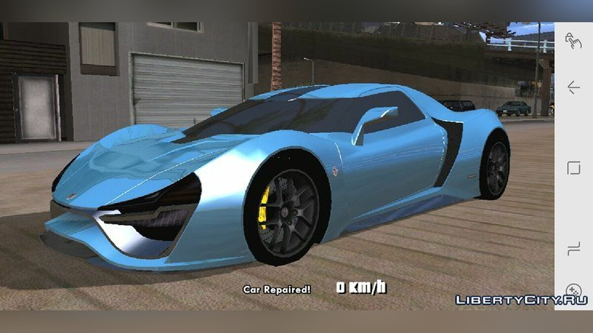Trion Nemesis for Mobile для GTA San Andreas (iOS, Android) - Картинка #3