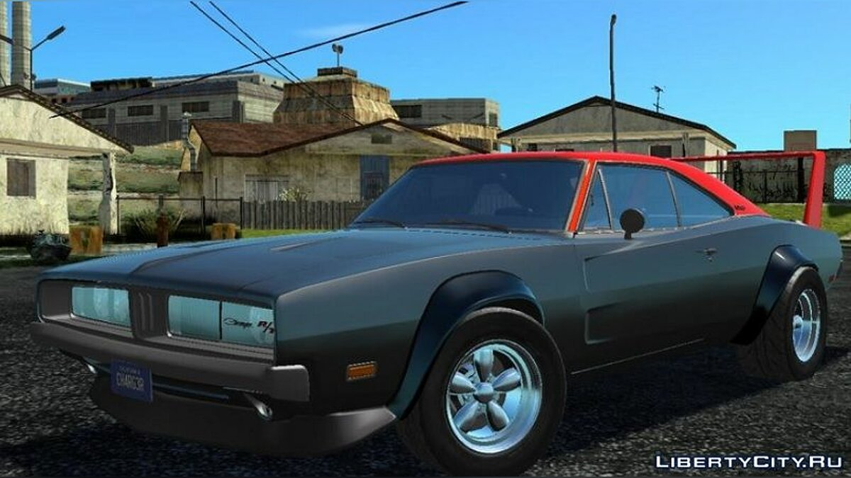 Машина Dodge Charger R/T 1969 [Widebody]  для GTA San Andreas (iOS, Android)