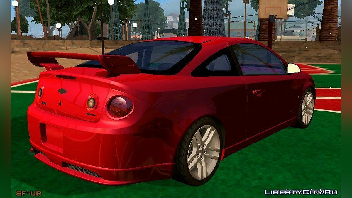 2009 Chevrolet Cobalt SS для GTA San Andreas (iOS, Android) - скриншот #2