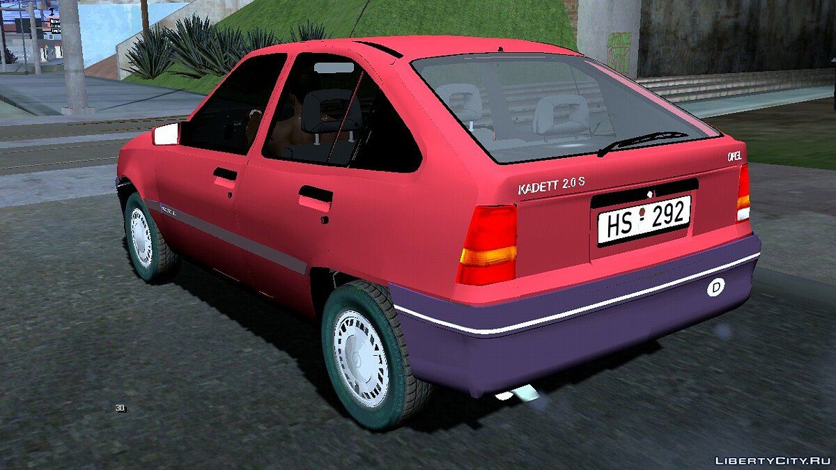 Машина Opel Kadett E для GTA San Andreas (iOS, Android)
