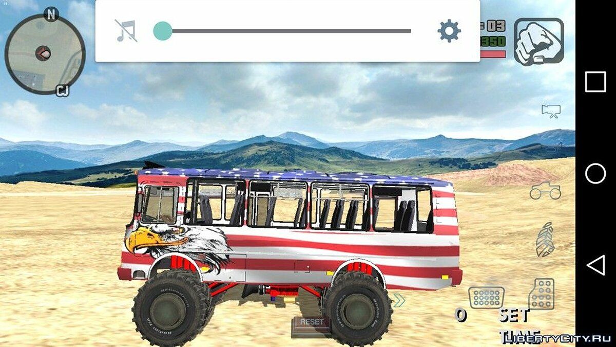 Машина Bro bus /DIESEL BROTHERS для GTA San Andreas (iOS, Android)