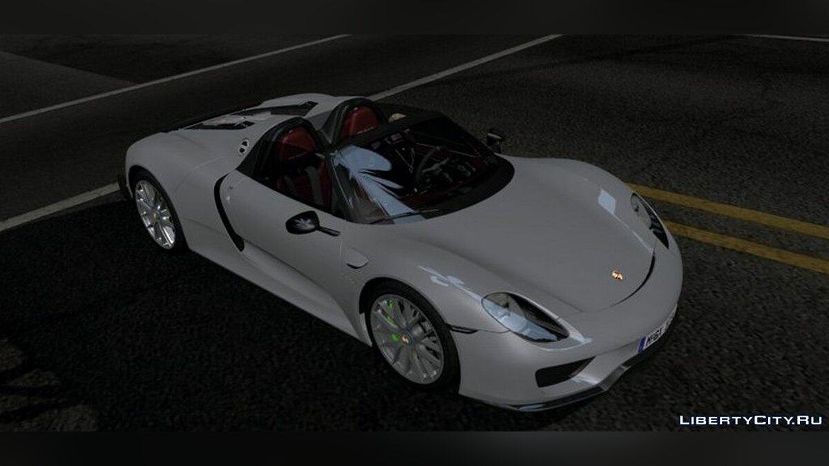Porsche 918 Spyder для GTA San Andreas (iOS, Android) - Картинка #2