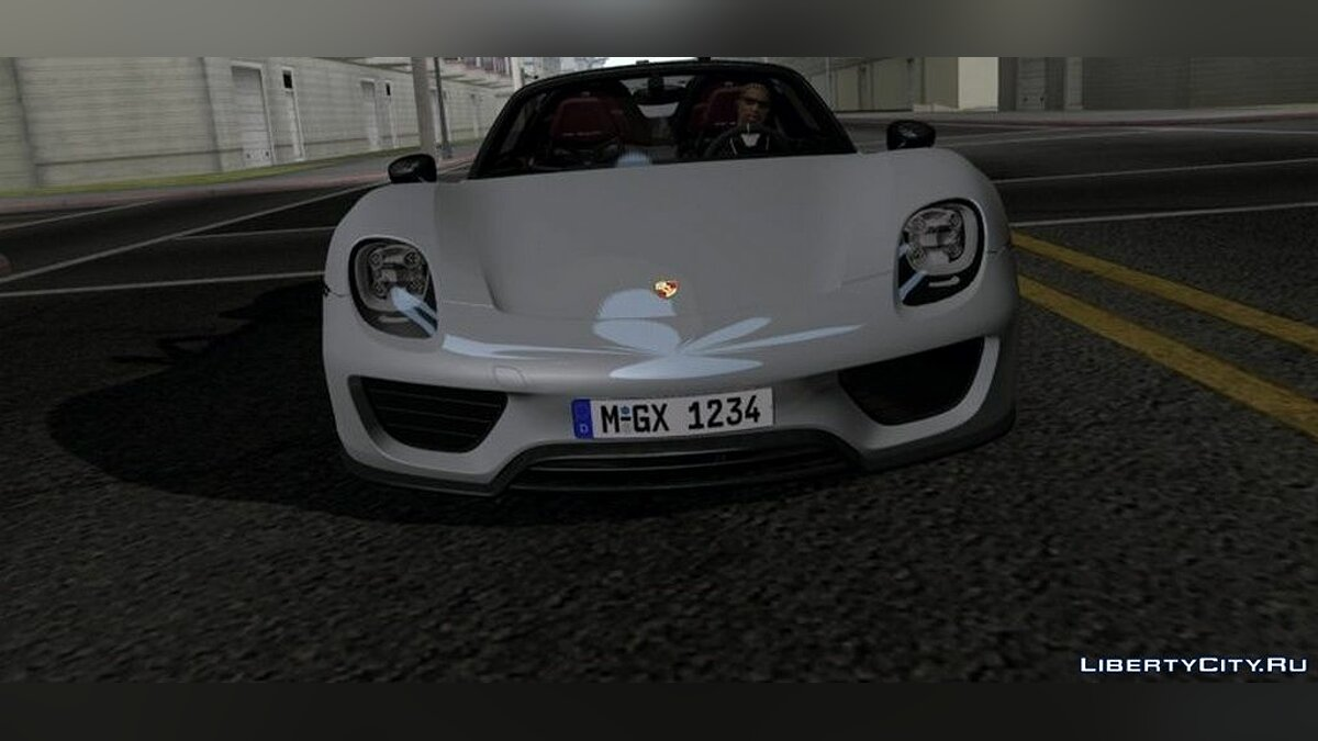 Porsche 918 Spyder для GTA San Andreas (iOS, Android) - Картинка #1