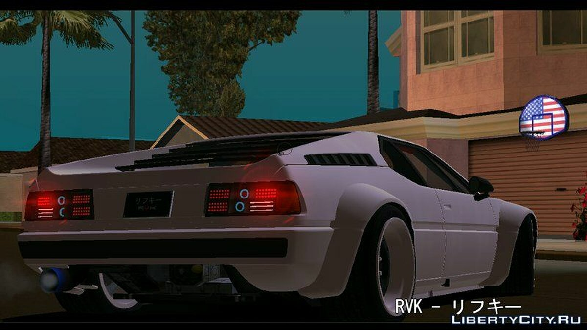 BMW M1 для GTA San Andreas (iOS, Android) - скриншот #2