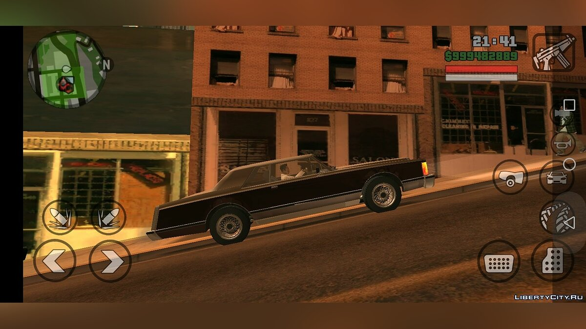 Машина Dundreary Virgo Classic - Only DFF для GTA San Andreas (iOS, Android)