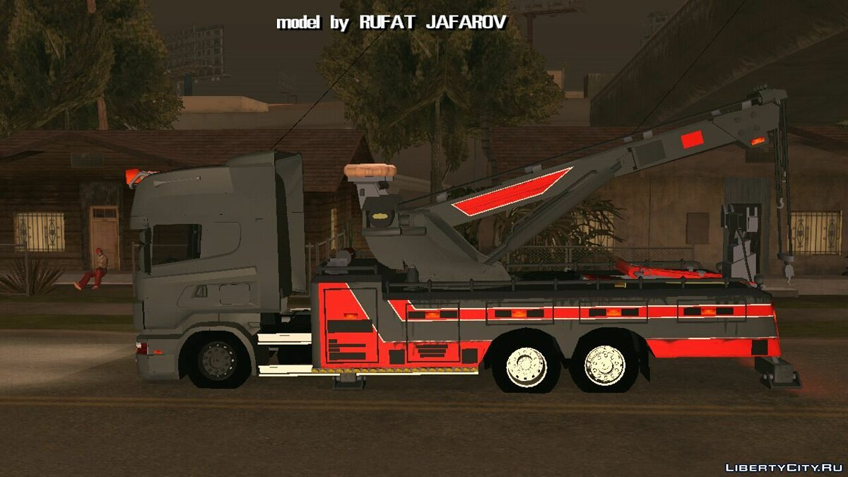 Машина Ротатор Scania для GTA San Andreas (iOS, Android)