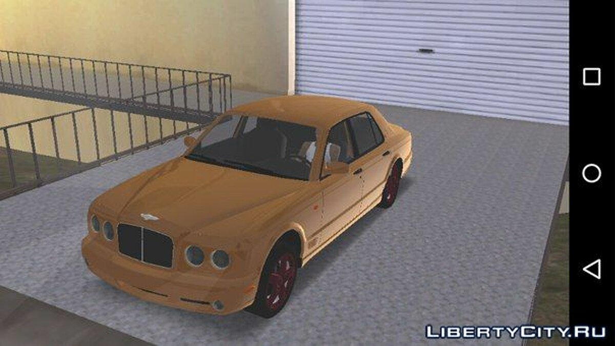 Машина Bentley Arnage для GTA San Andreas (iOS, Android)