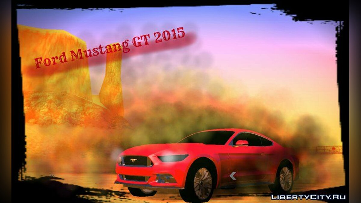 Ford Mustang GT 2015 для GTA San Andreas (iOS, Android)