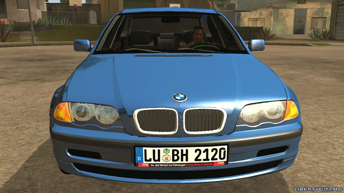 Машина BMW e46 325i для GTA San Andreas (iOS, Android)