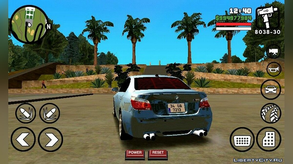 BMW M5 для GTA San Andreas (iOS, Android) - Картинка #4