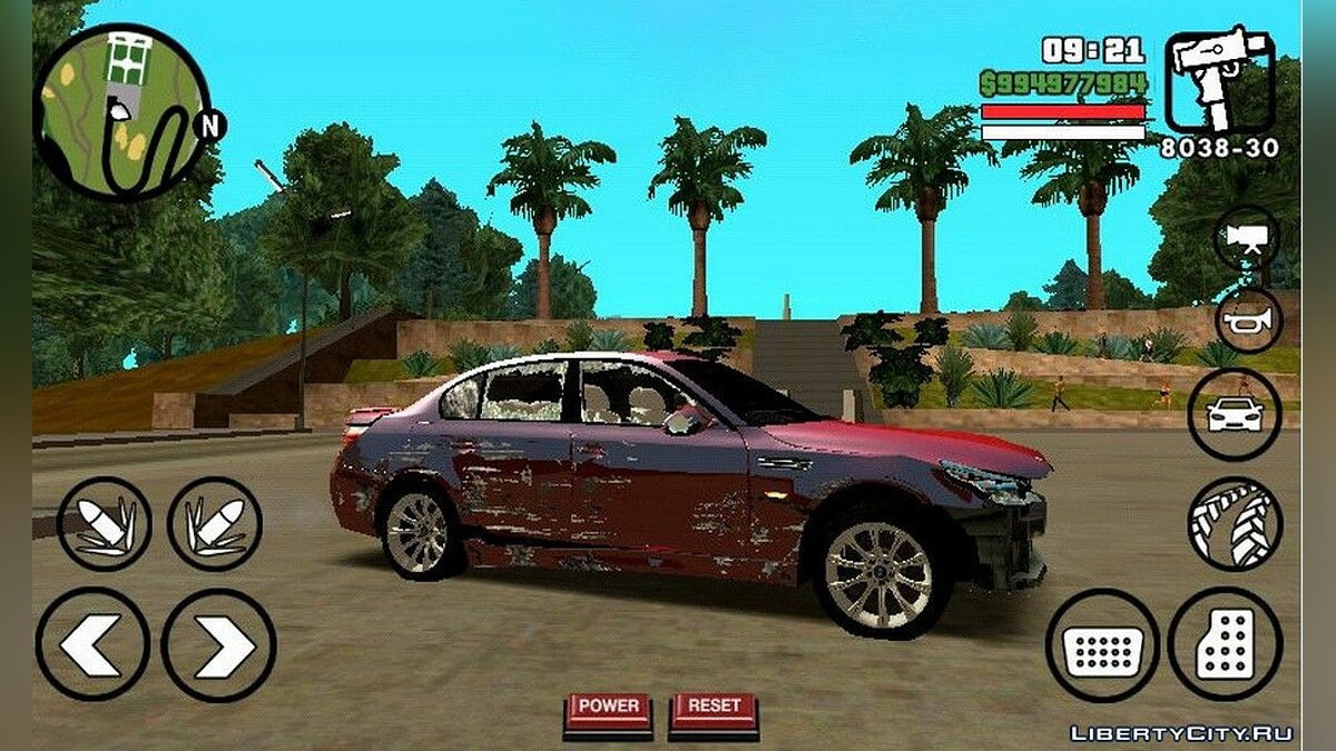 BMW M5 для GTA San Andreas (iOS, Android) - Картинка #6