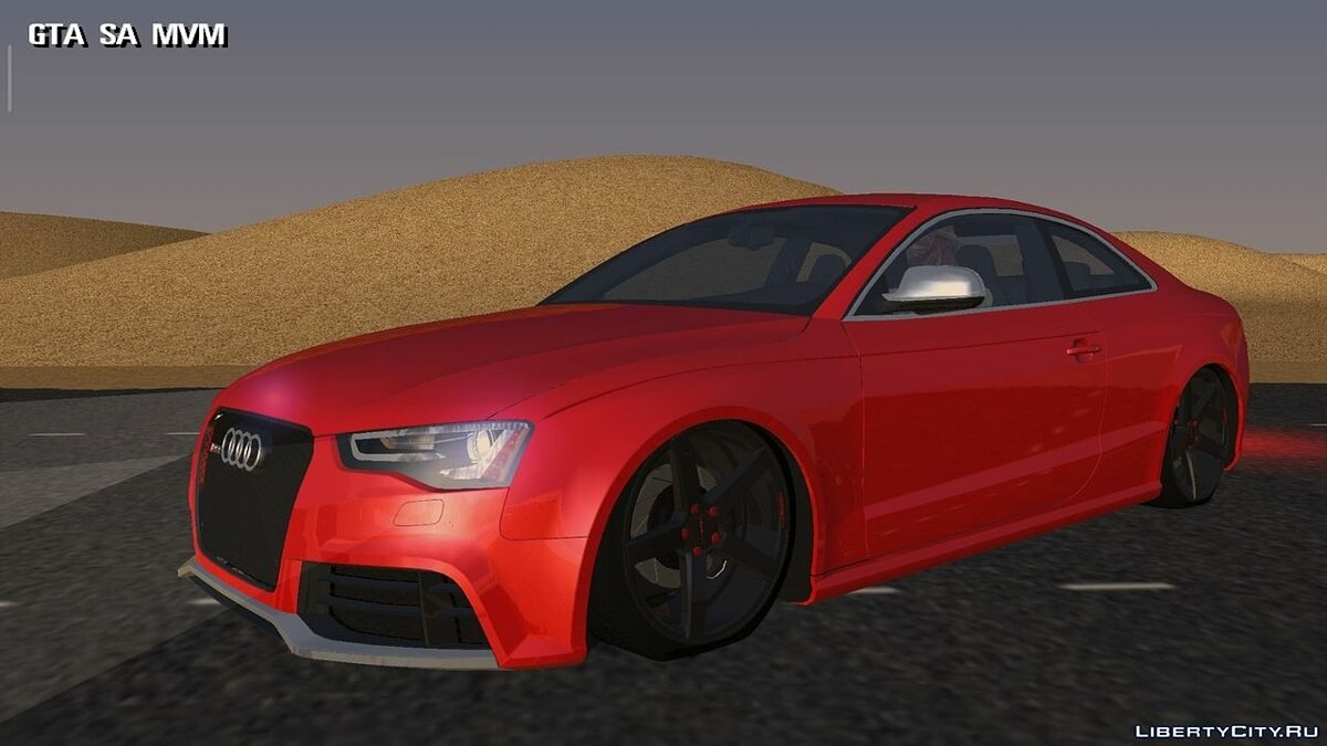 Машина Audi RS5 Coupe 2014 STANCE для GTA San Andreas (iOS, Android)